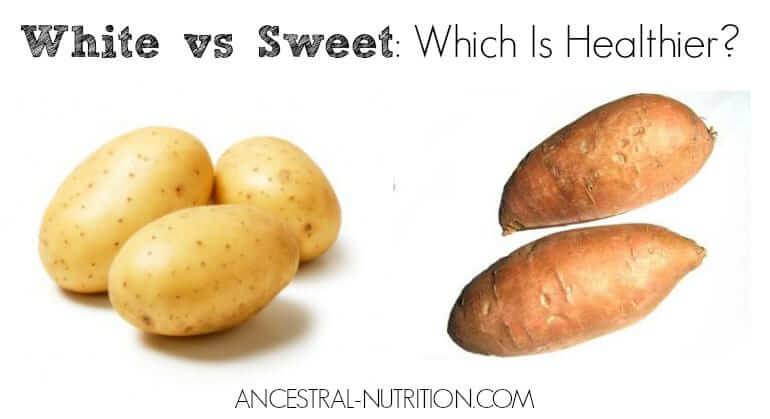 White Potatoes Vs Sweet Potatoes Are They Paleo