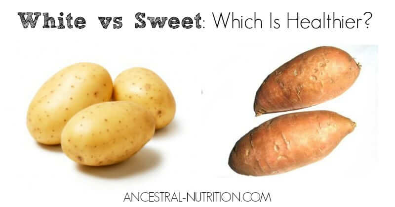 White potatoes vs sweet potatoes