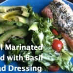 Basil Marinated Salmon