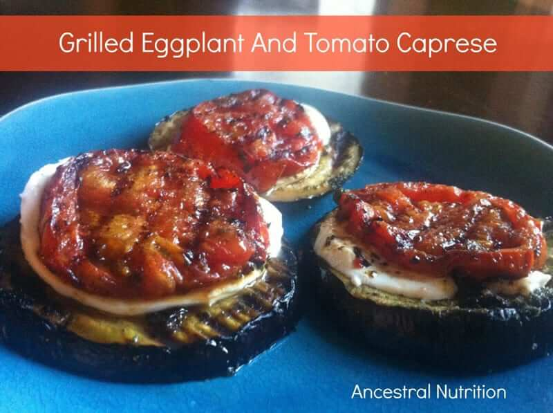 Grilled Eggplant And Olive Pizza Recipe — Dishmaps