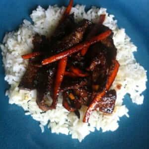Szechuan Spicy Beef