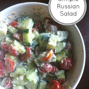Simple Russian Salad