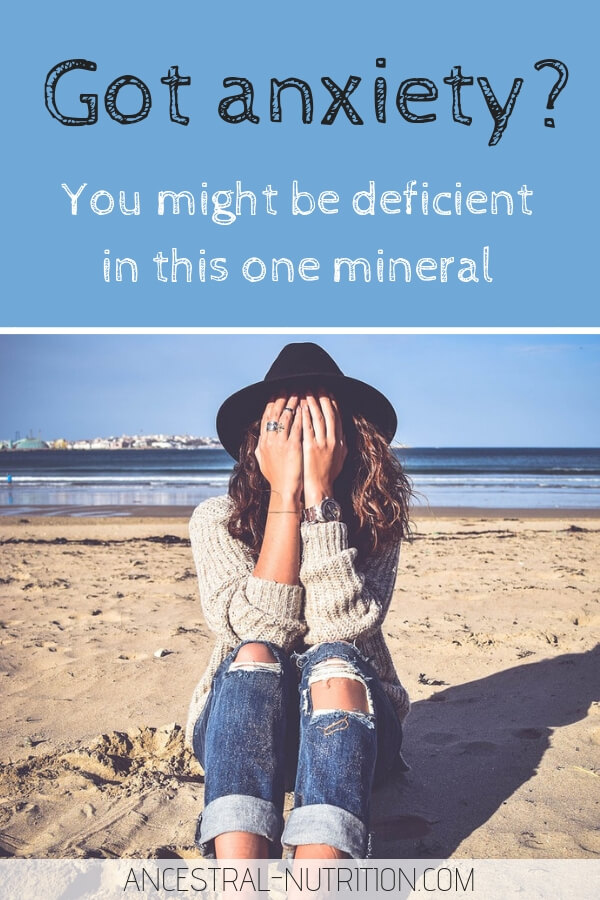 Anxiety Treatment | If you have anxiety, depression, insomnia, etc. - you might be deficient in this one mineral, which could be the easiest natural anxiety treatment ever. It is widely available over the counter and cheap! #anxiety, #selfhelp, #healthyliving, #supplements, #minerals
