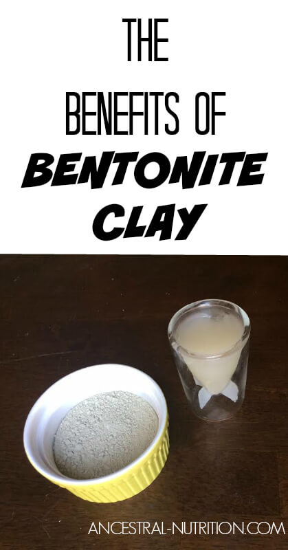 Find out the amazing health benefits of bentonite clay! It binds to toxins in the body and flushes them out, it's also great to use for clear, glowing skin!
