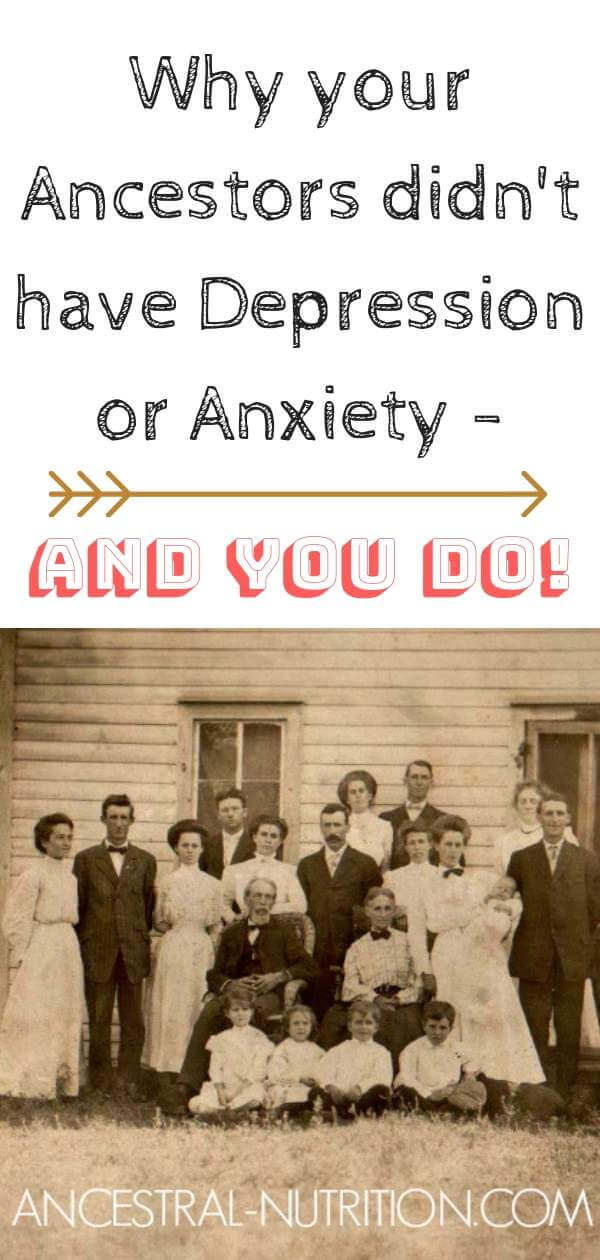 Overcoming Anxiety and Depression starts with understanding and explaining where it comes from! Why do you suffer from anxiety and Depression when your ancestors didn't? Are we overthinking this? #anxiety, #depression
