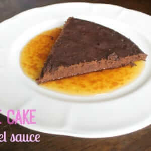 gluten-free flourless chocolate cake