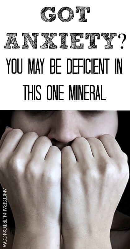 If you have anxiety, depression, insomnia, etc. - you might be deficient in this one mineral, it's estimated that 90% of Americans are.