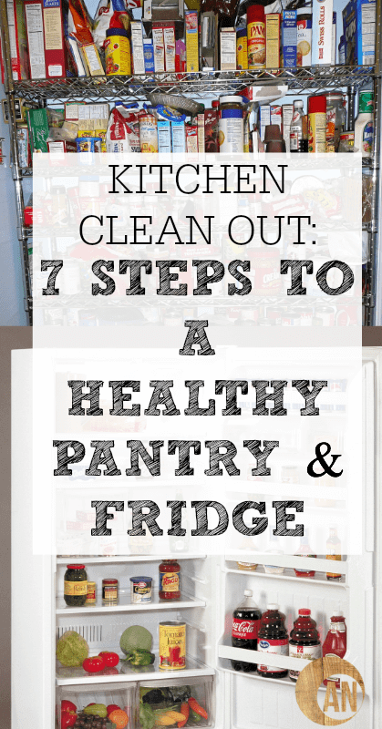 Kitchen-Clean-Out-7-Steps-To-A-Healthy-Pantry-Refrigerator
