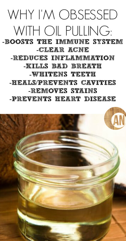 Why I'm Obsessed with Oil Pulling - whether you want to naturally whiten your teeth, prevent cavities or improve oral health, you need to try oil pulling!
