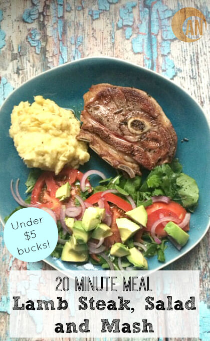 20-Minute-Meal-Lamb-Steak-Salad-and-Mash-For-Under-5