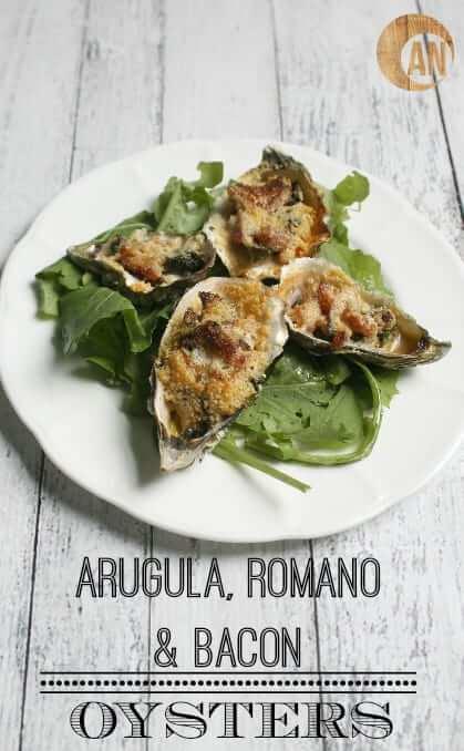 Arugula-Romano-and-Bacon-Oysters