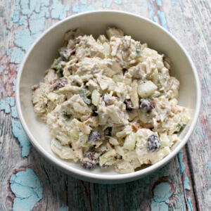 Sweet and Spicy Creamy Turkey Salad
