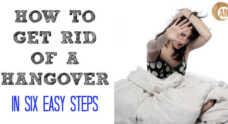 how to get rid of hangover stomach