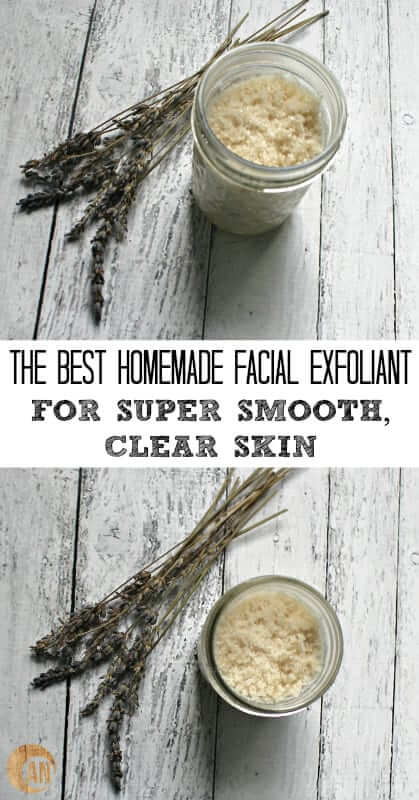 If you have problem skin, try using this homemade facial exfoliant. It has worked wonders on my skin!