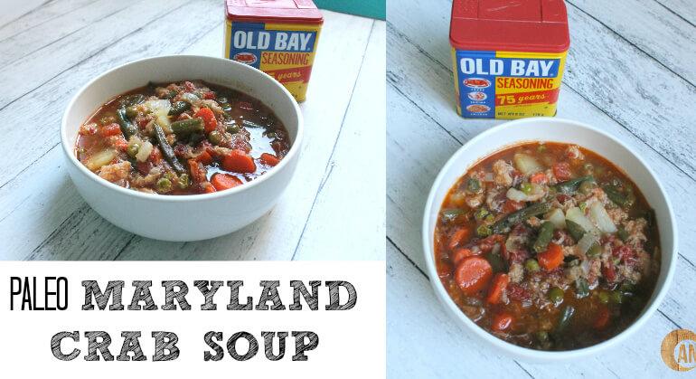 maryland crab soup paleo