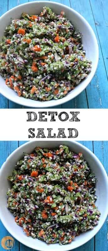 Easy Detox Salad #salad #paleo