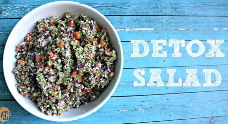 Easy Detox Salad