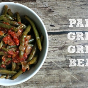 Paleo Green Beans