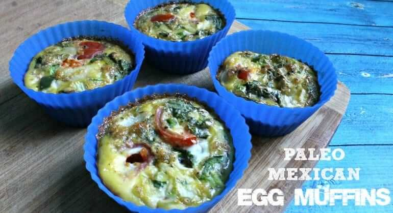 Paleo Mexican Egg Muffins