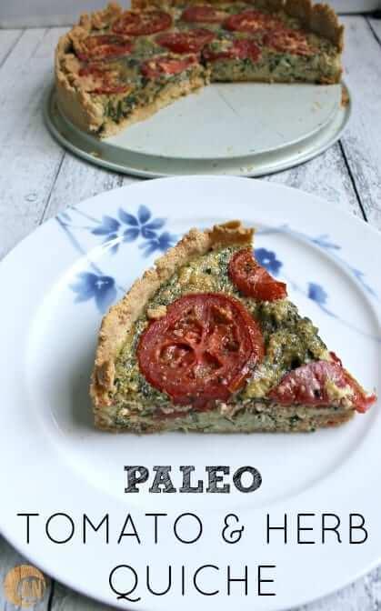 Paleo-Tomato-Herb-Quiche