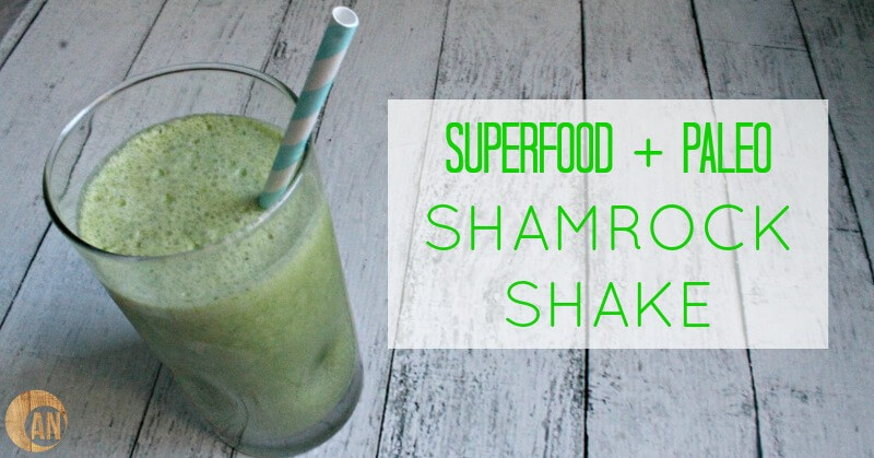 paleo shamrock shake