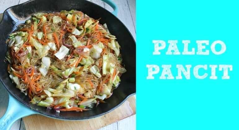 paleo pancit recipe