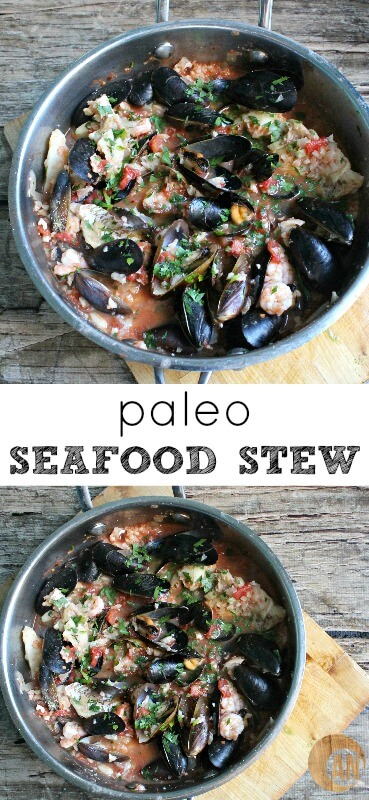 Believe it or not, this Paleo seafood stew is a nutrient dense fertility meal!