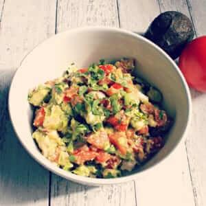 Mexican Shrimp and Avocado Salsa