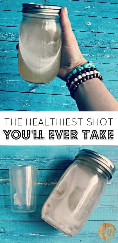 The Healthiest Shot and best Collagen Drink Ever! It promotes clear + glowing skin, reduces wrinkles and cellulite, improves digestion and strengthens the immune system!
