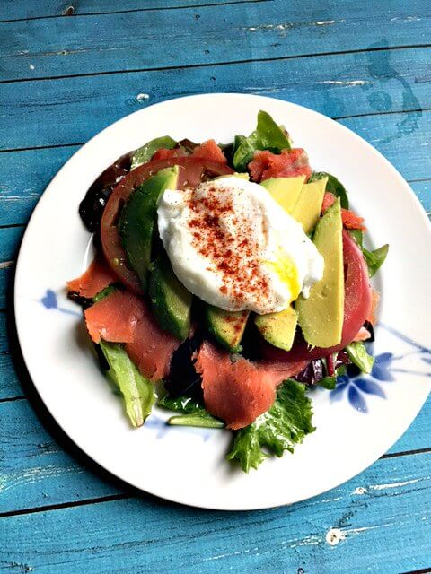 Paleo Breakfast Salad