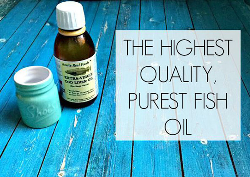 the highest quality purest fish oil ancestral nutrition