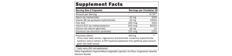 ingredient list of plexus accelerator