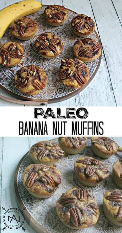 Try my recipe for Paleo Banana Nut Muffins! Your house will smell amazing while these are cooking!