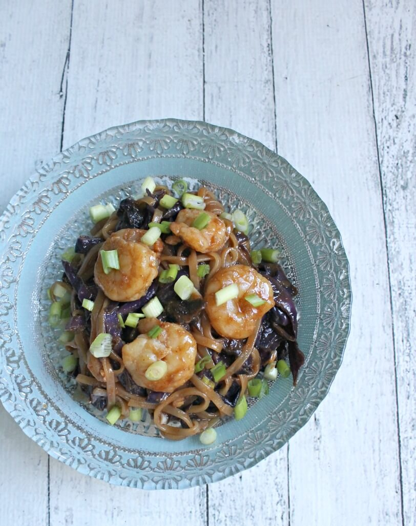 Paleo Asian Noodles With Shrimp