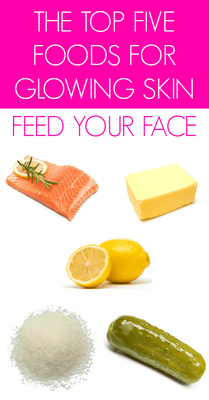 The-Top-Five-Foods-For-Glowing-Skin