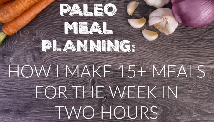 paleo planning