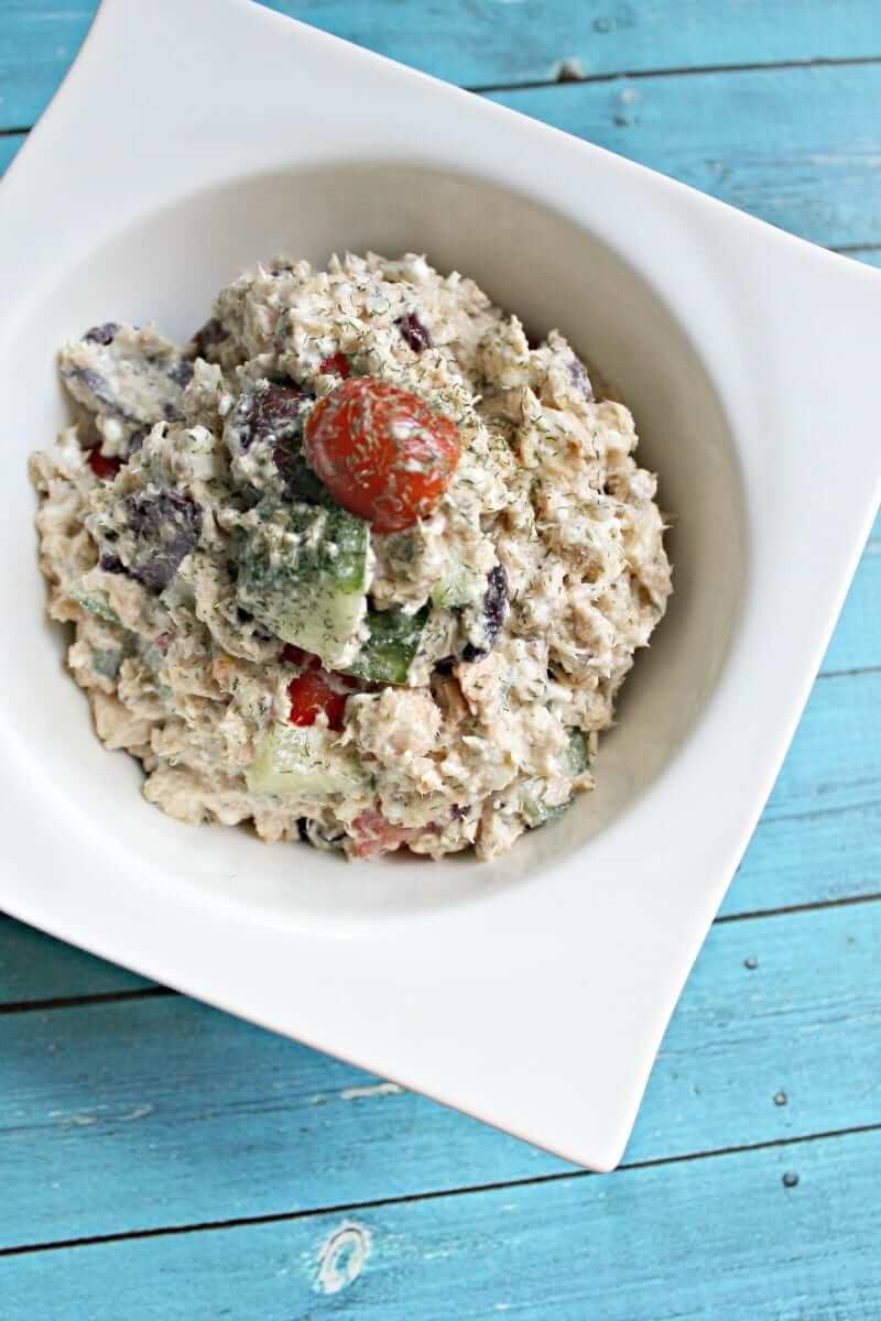 Paleo Greek Tuna Salad