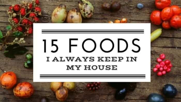 15 FOODS