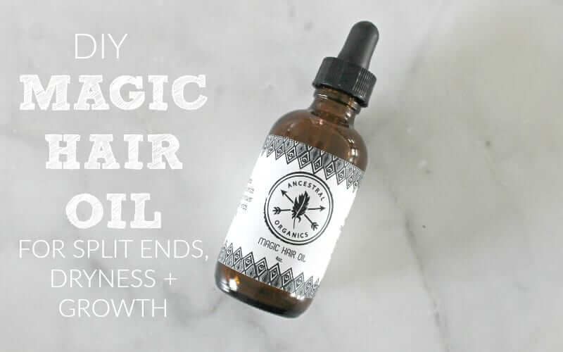 DIY Magic Hair Oil
