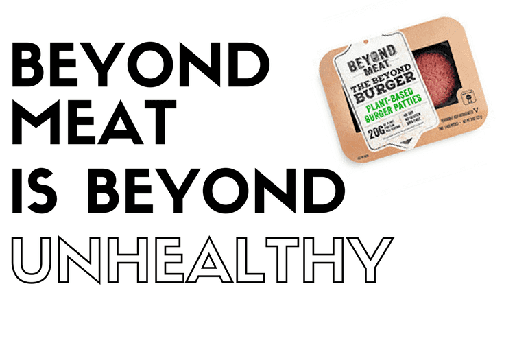 Beyond Meat Burger in original package