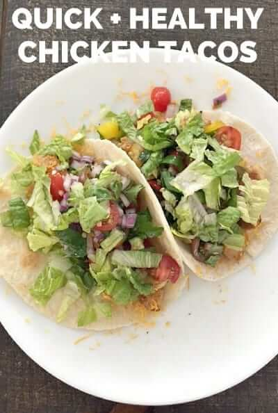 Quick Healthy Chicken Tacos Ancestral Nutrition