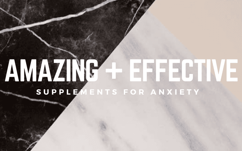 The Best Supplements For Anxiety - Ancestral Nutrition