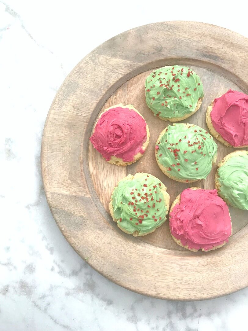 Gluten-Free Frosted Sugar Cookies