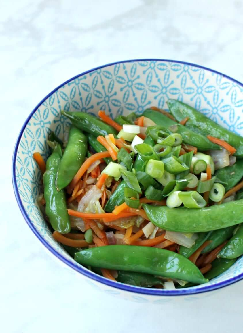 Asian Stir Fry Veggies (Paleo, Low-Carb)