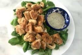 Gluten-free Paleo Calamari