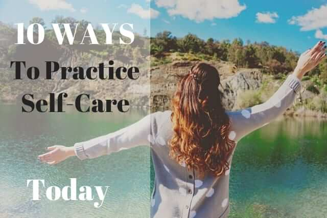 10 Simple Self Care Activities you can do every day #mentalhealth, #anxiety, #positivethinking