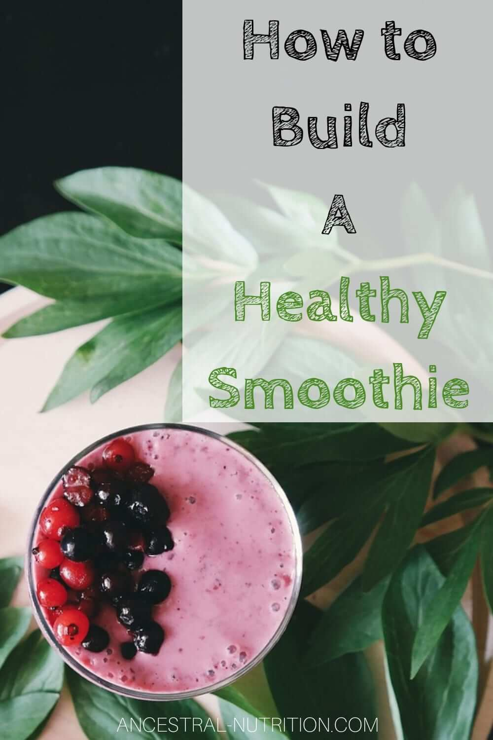 How to build a healthy smoothie - use my basic recipe for making high protein, low sugar and high fibre smoothies -the perfect breakfast or post-workout drink keeping you full and satisfied for hours #cleaneating, #healthysmoothierecipe, #healthysmoothies, #smoothierecipe, #breakfast, #easy