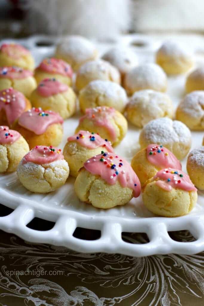 Coconut Flour Ricotta Cookies