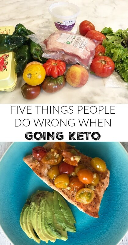 Five Things People Do Wrong When Going Keto | So you want to go keto? Avoid these beginner mistakes and get the results you were hoping for #ketodiet, #keto