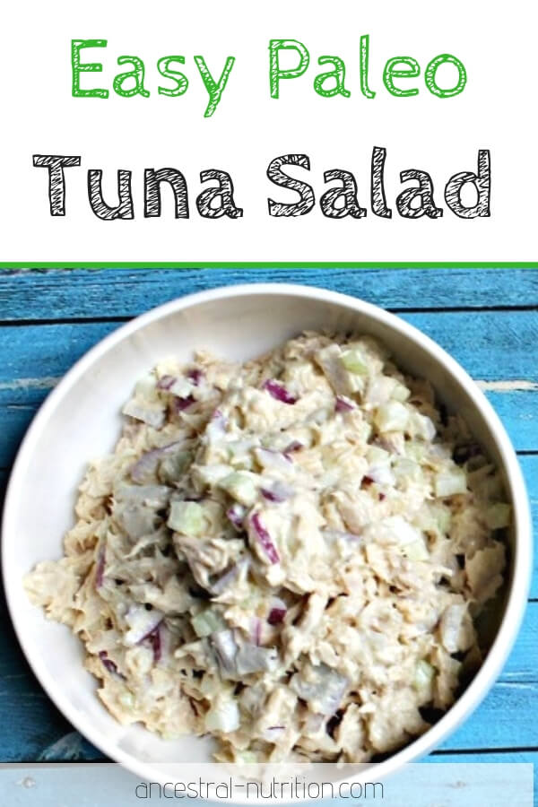 Making your own tuna salad is cheaper and infinitely healthier. And in my opinion (aka the correct opinion), my recipe for paleo tuna salad tastes better. #paleorecipes #tunasalad